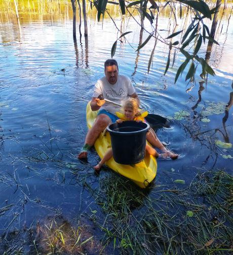 Fun in the kayak Apr 21