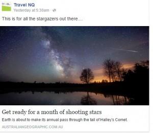 Night sky - stargazers Australian Geographic